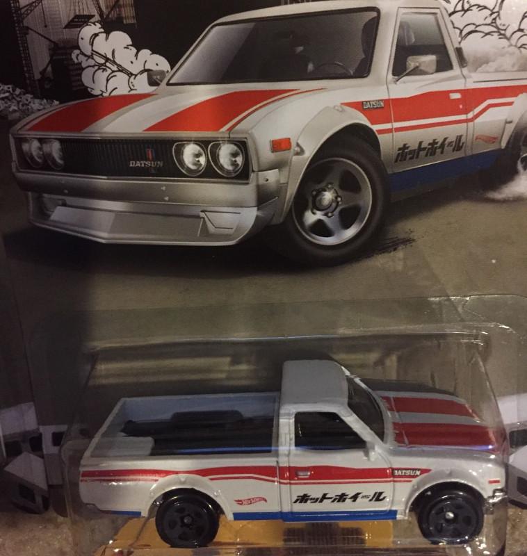 Datsun 620 Truck Whiteタンポ擦れカードしわあり Warehouse