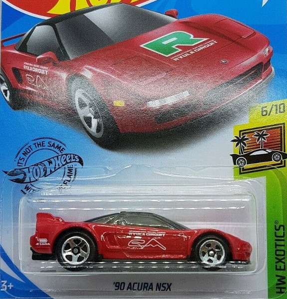 90 ACURA NSX (RED/TAMPO)